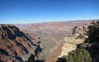 Weltreise Backpacking Entscheidung Grand Canyon Kalifornien