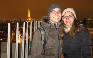 Weltreise Backpacking Entscheidung Paris