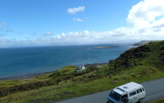 Weltreise Backpacking Entscheidung Roadtrip Schottland