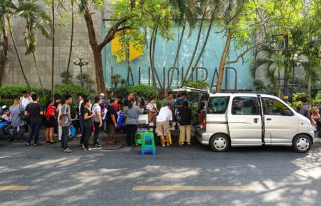 Kopieren-Reisepass-Bangkok-Visum