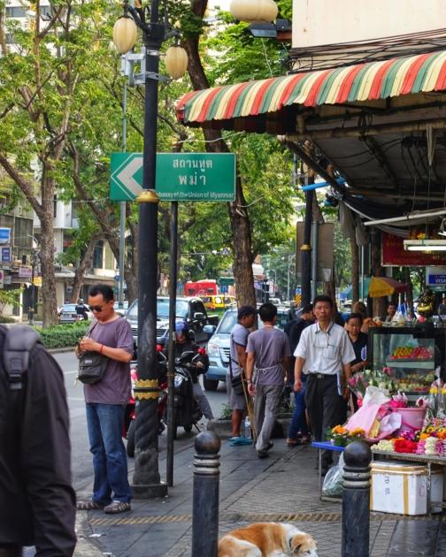 Myanmar-Visum-Thailand-Schild-2