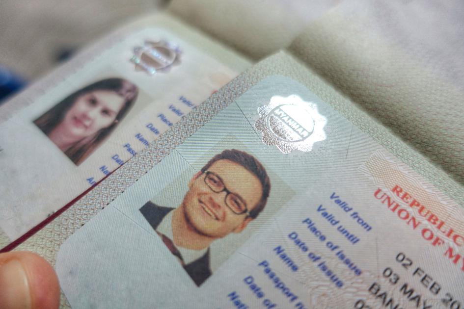 Visum-kleber-Pass-beantragen